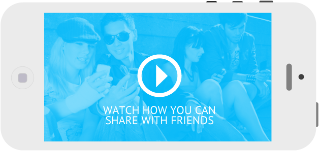 Share-video-iPhone-friends
