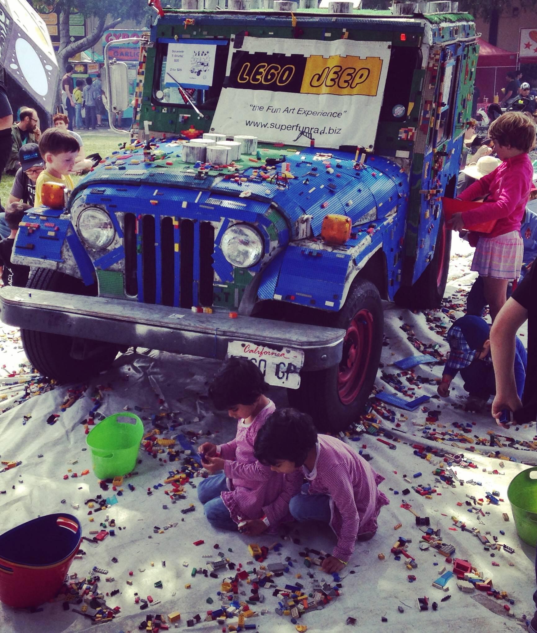 Lego Jeep Maker Faire smaller
